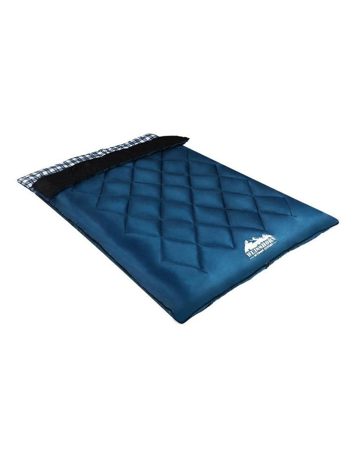 Sleeping Bag Double Size in Blue image 3