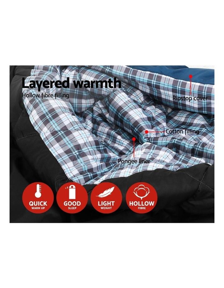 Sleeping Bag Double Size in Blue image 4