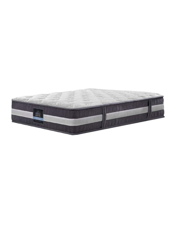 King Single Mattress Bed Size 7 Zone Pocket Spring Medium Firm Foam 30cm image 1