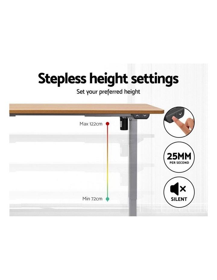 Standing Desk Sit Stand Table Height Adjustable Motorised Electric Frame Riser 120cm Desktop image 4