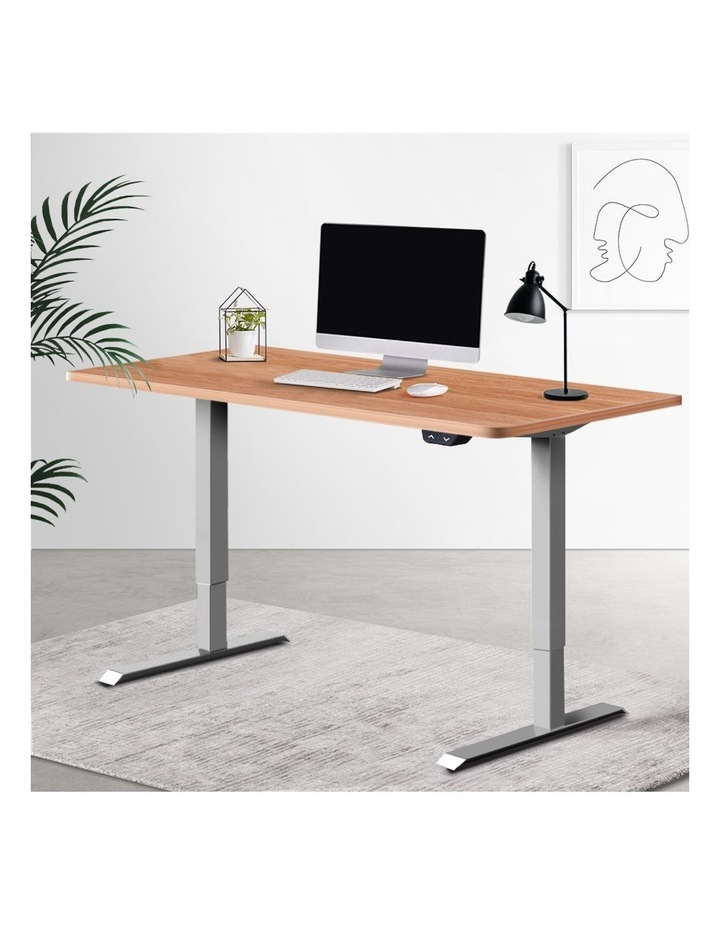 Standing Desk Sit Stand Table Height Adjustable Motorised Electric Frame Riser 120cm Desktop image 6