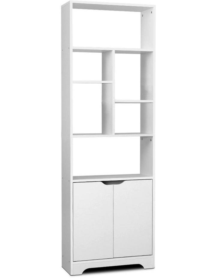 Bookshelf Display Shelf Adjustable Storage Cabinet Bookcase Stand Rack image 1
