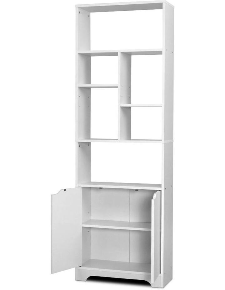 Bookshelf Display Shelf Adjustable Storage Cabinet Bookcase Stand Rack image 3