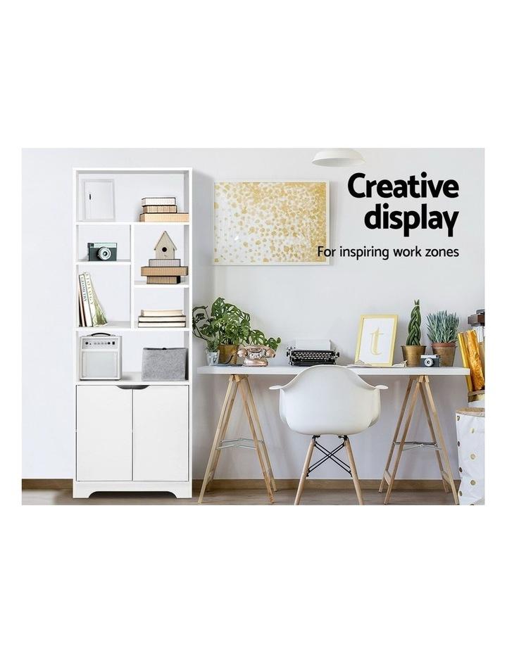 Bookshelf Display Shelf Adjustable Storage Cabinet Bookcase Stand Rack image 5