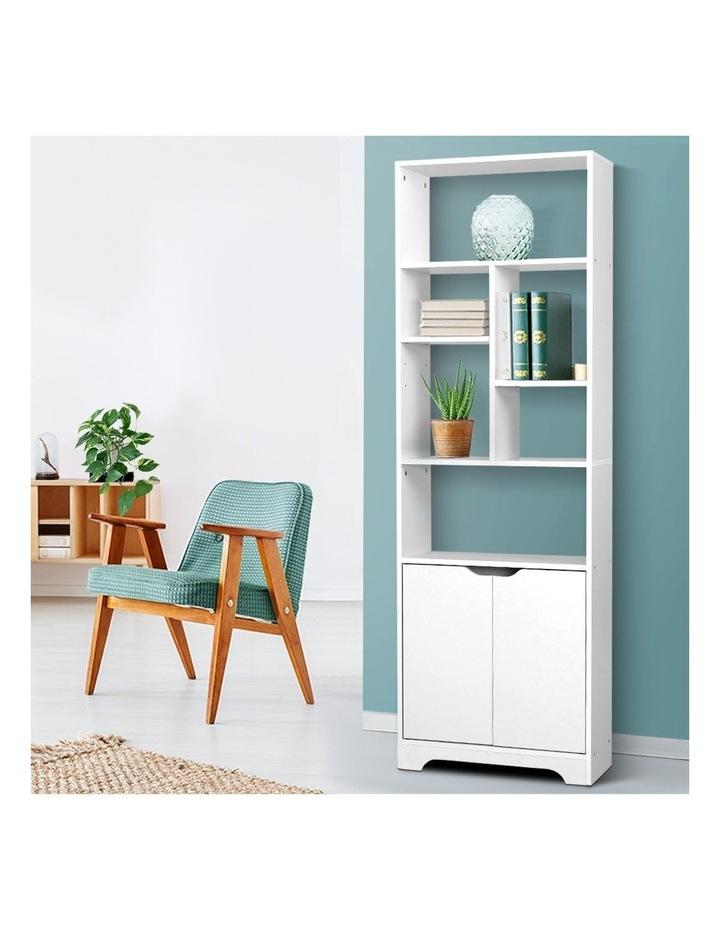 Bookshelf Display Shelf Adjustable Storage Cabinet Bookcase Stand Rack image 6