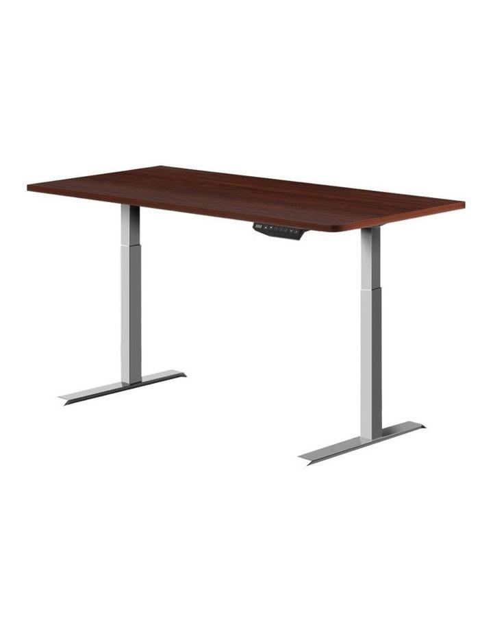Standing Desk Motorised Electric Height Adjustable Laptop Computer Table Riser 120cm Dual Motor image 1