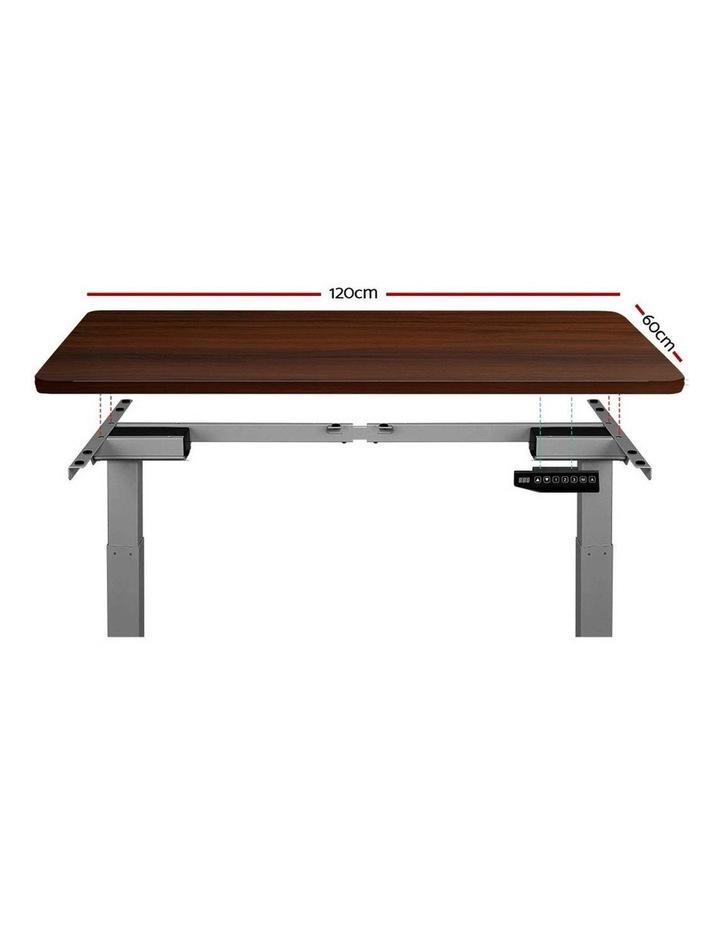 Standing Desk Motorised Electric Height Adjustable Laptop Computer Table Riser 120cm Dual Motor image 3