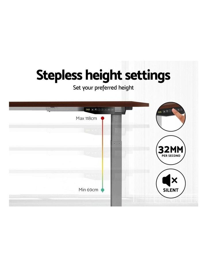 Standing Desk Motorised Electric Height Adjustable Laptop Computer Table Riser 120cm Dual Motor image 5