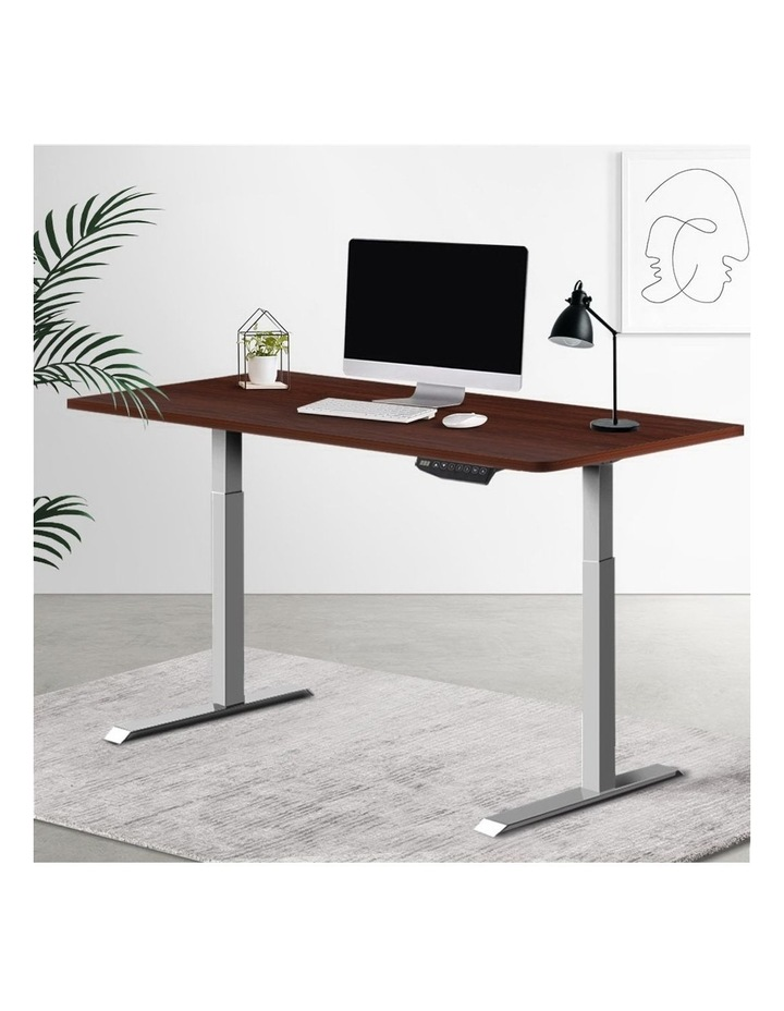 Standing Desk Motorised Electric Height Adjustable Laptop Computer Table Riser 120cm Dual Motor image 6