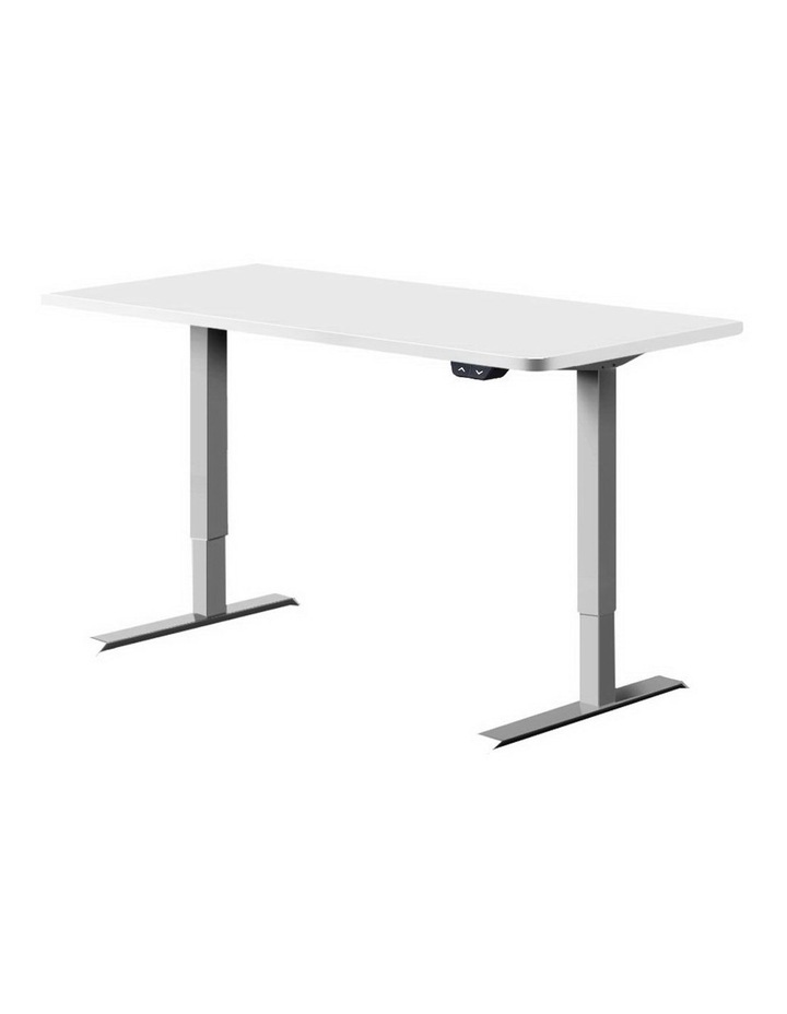 Standing Desk Motorised Height Adjustable Sit Stand Computer Table Office 120cm image 1