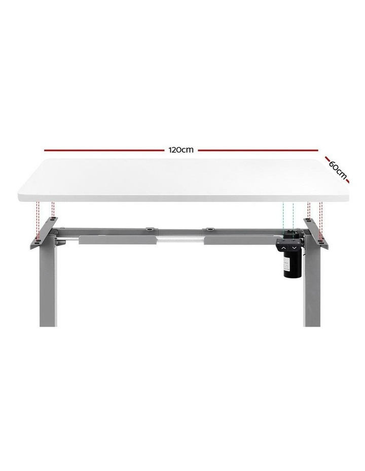 Standing Desk Motorised Height Adjustable Sit Stand Computer Table Office 120cm image 3