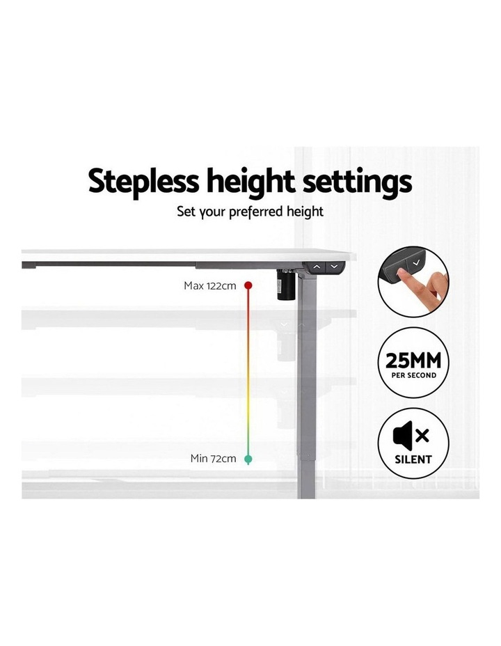 Standing Desk Motorised Height Adjustable Sit Stand Computer Table Office 120cm image 5