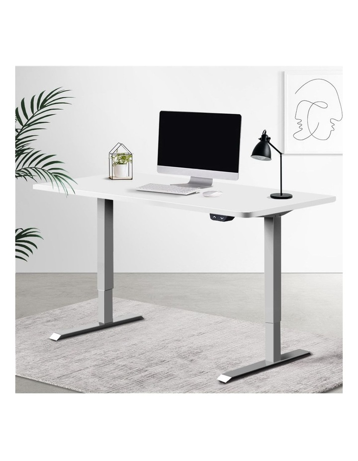 Standing Desk Motorised Height Adjustable Sit Stand Computer Table Office 120cm image 6