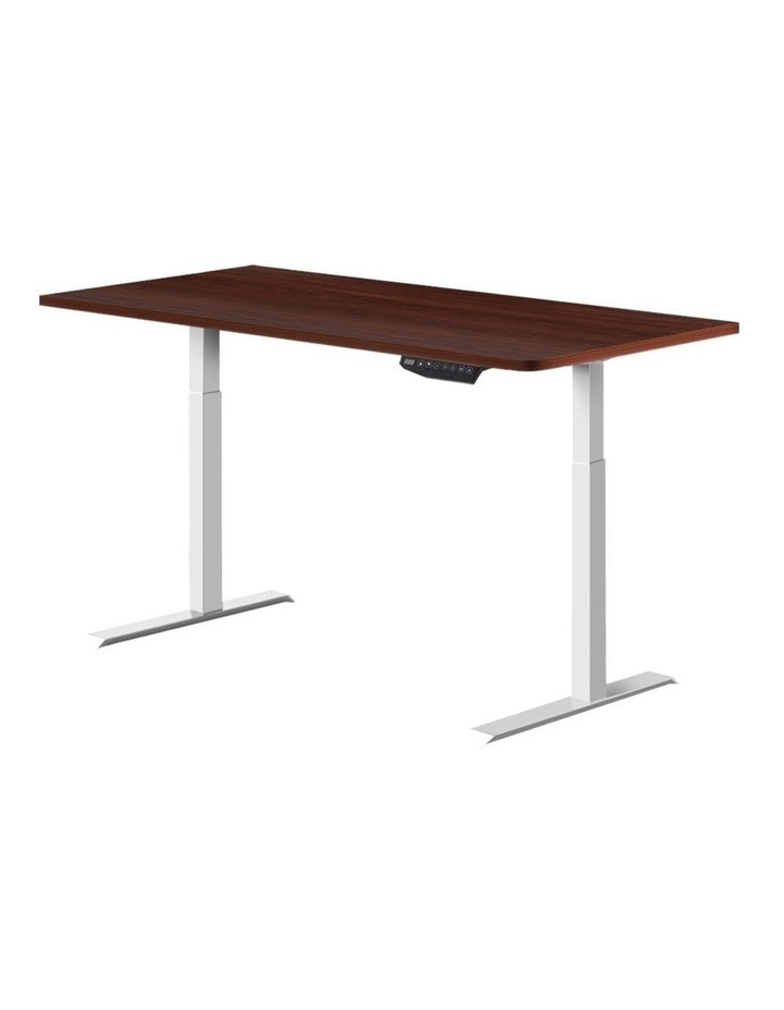 Sit Stand Desk Standing Desks Motorised Electric Computer Laptop Table Office Dual Motor 120cm image 1