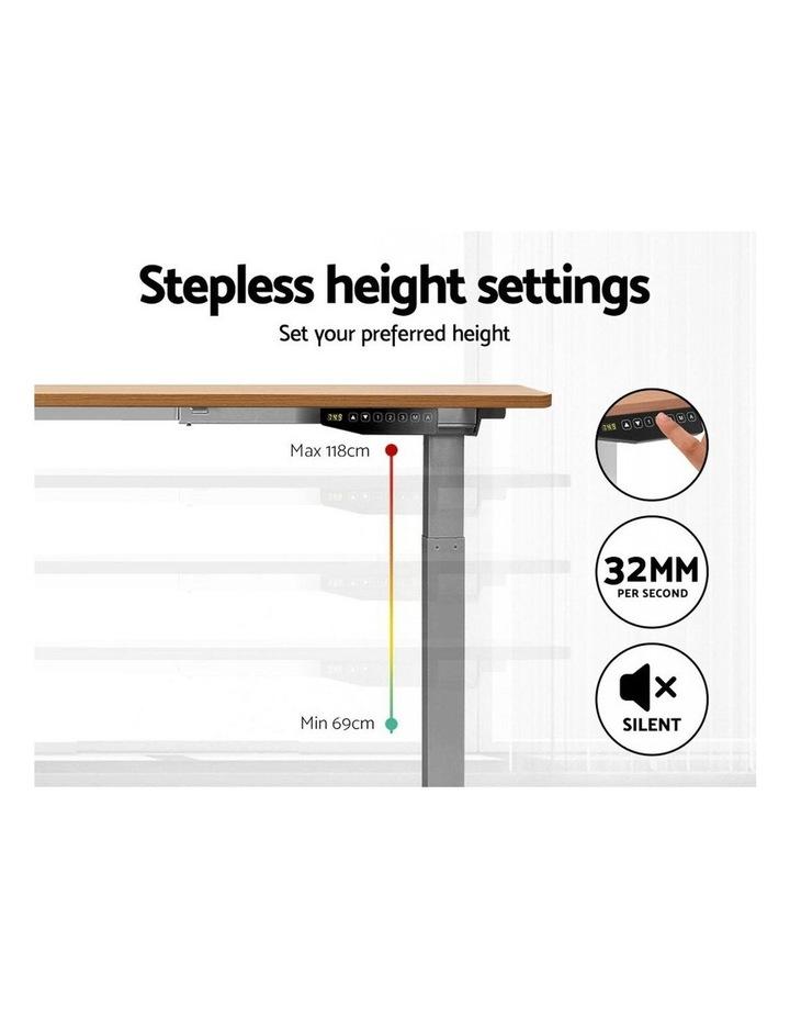Standing Desk Motorised Electric Height Adjustable Laptop Computer Table 120cm Dual Motor image 5