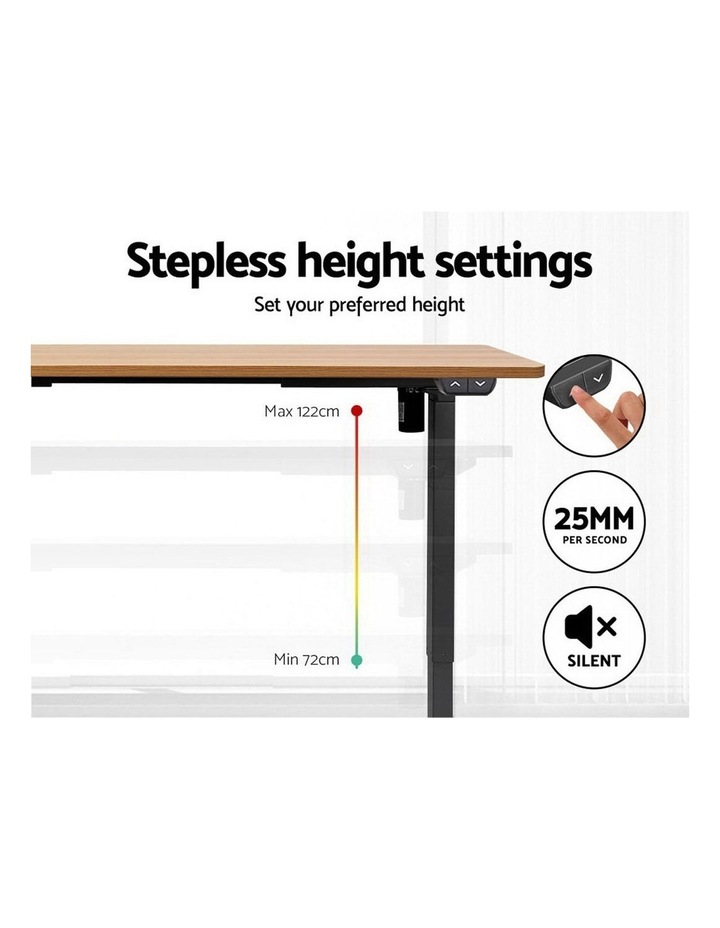 Standing Desk Sit Stand Table Riser Height Adjustable Motorised Electric Computer Laptop Table image 5