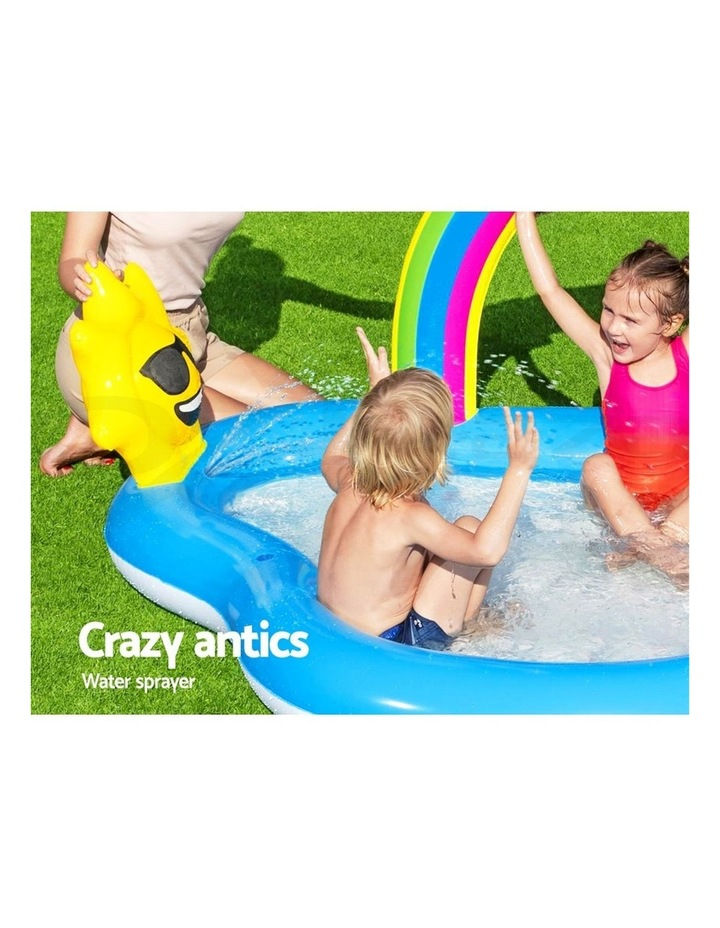 Swimming Pool Rainbow Slide Play Above Ground Kids Inflatable Pools image 5