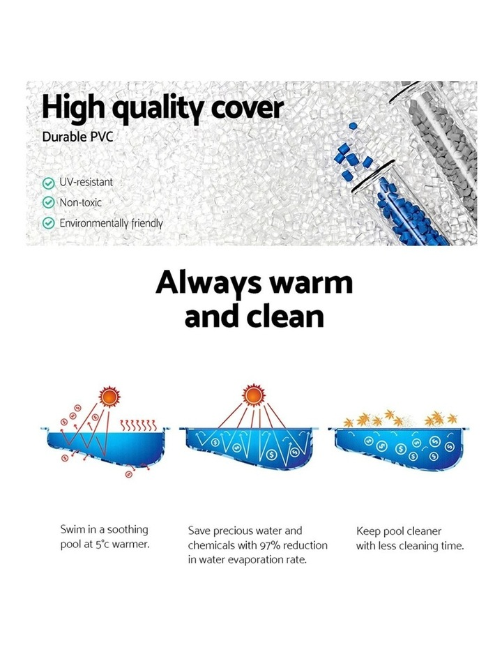 Solar Pool Cover Blanket For Swimming Pool 12ft 366cm Round Pools image 5