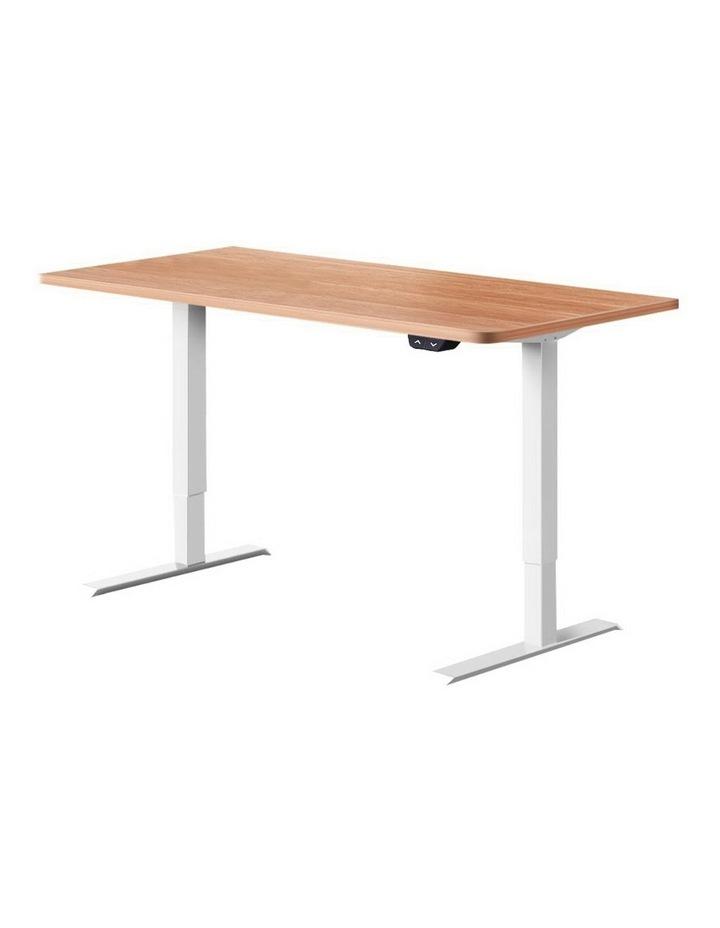 Standing Desk Motorised Sit Stand Table Riser Height Adjustable Electric Computer Table Laptop Desks image 1