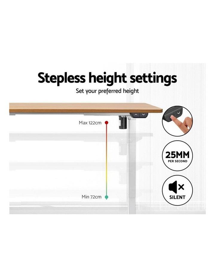 Standing Desk Motorised Sit Stand Table Riser Height Adjustable Electric Computer Table Laptop Desks image 4