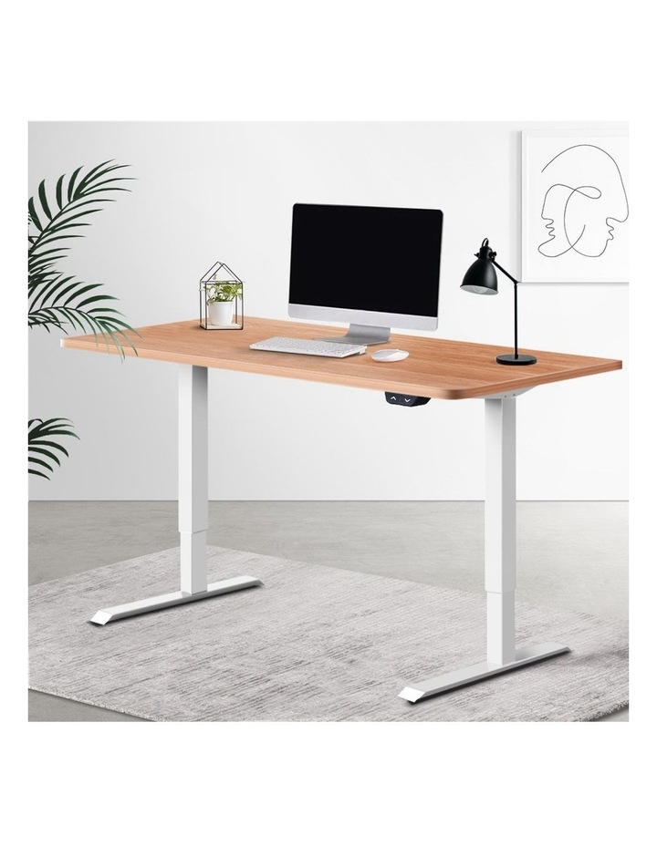 Standing Desk Motorised Sit Stand Table Riser Height Adjustable Electric Computer Table Laptop Desks image 6