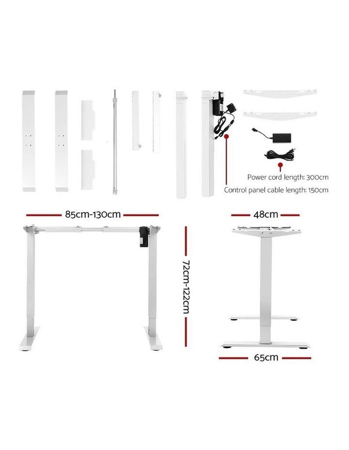 Standing Desk Motorised Electric Adjustable Sit Stand Table Riser Computer Laptop Stand 120cm image 2