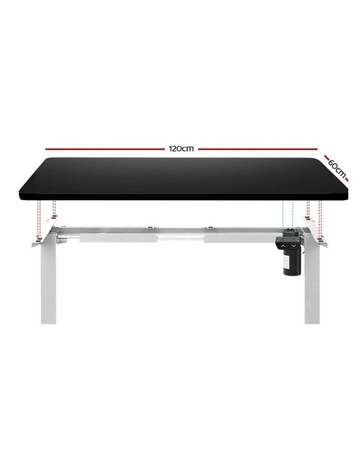 Standing Desk Motorised Electric Adjustable Sit Stand Table Riser Computer Laptop Stand 120cm image 3