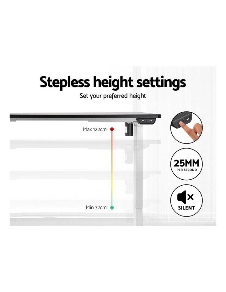 Standing Desk Motorised Electric Adjustable Sit Stand Table Riser Computer Laptop Stand 120cm image 5