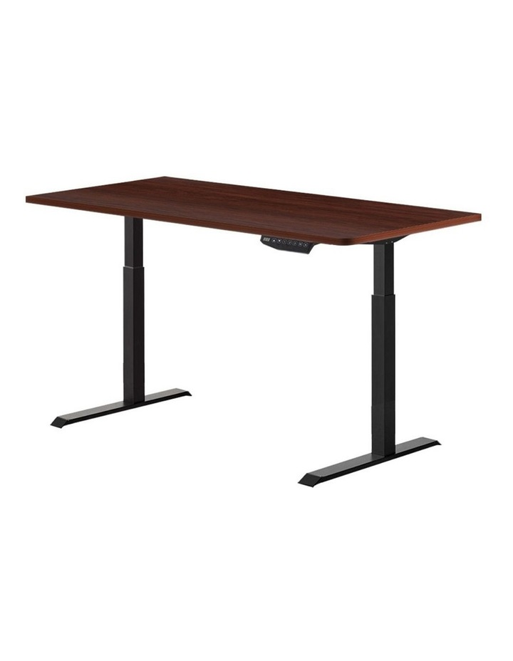 Standing Desk Sit Stand Motorised Electric Frame Computer Laptop Table 120cm Dual Motor image 1