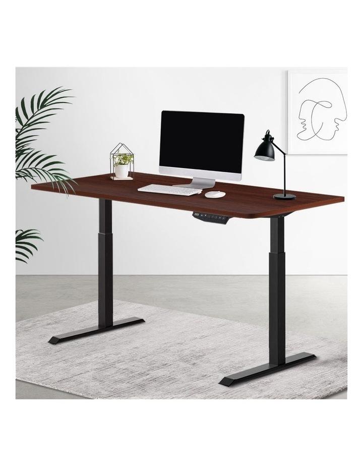 Standing Desk Sit Stand Motorised Electric Frame Computer Laptop Table 120cm Dual Motor image 6