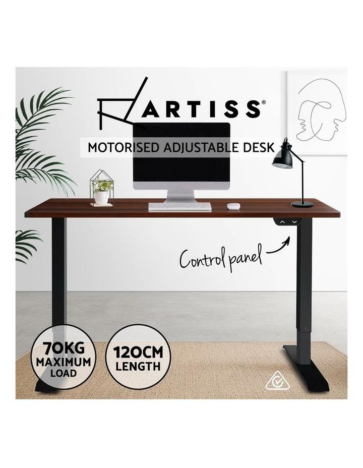 Sit Stand Desk Motorised Electric Table Riser Height Adjustable Standing Desk 120cm image 4