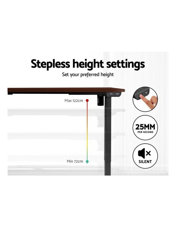 Sit Stand Desk Motorised Electric Table Riser Height Adjustable Standing Desk 120cm image 5