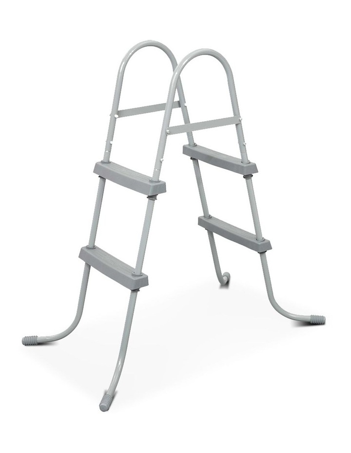 Ladder Above Ground Swimming Pools 84cm 32 inch Deep Removable Steps image 1