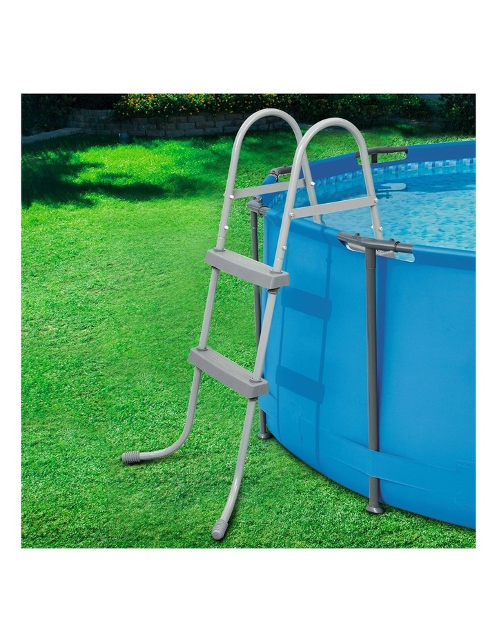 Ladder Above Ground Swimming Pools 84cm 32 inch Deep Removable Steps image 6