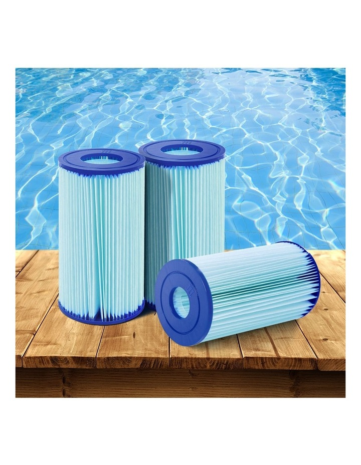 Filter Cartridge 6X For Above Ground Swimming Pool 1500GPH Filter Pump image 6