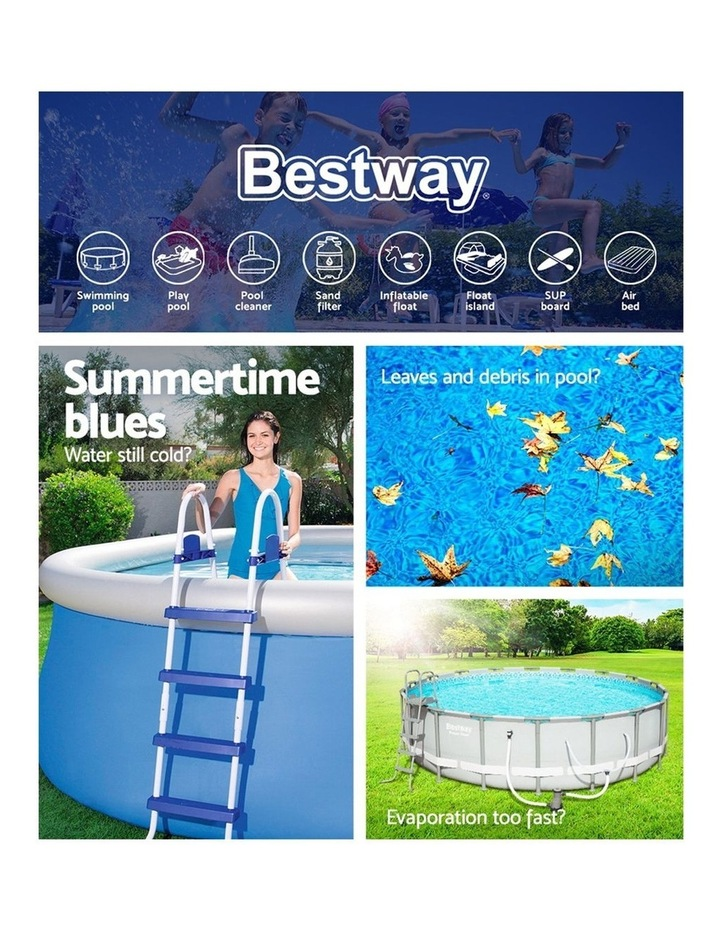 Solar Pool Cover Blanket for Swimming Pool 10ft 305cm Round Pool 58241 image 4