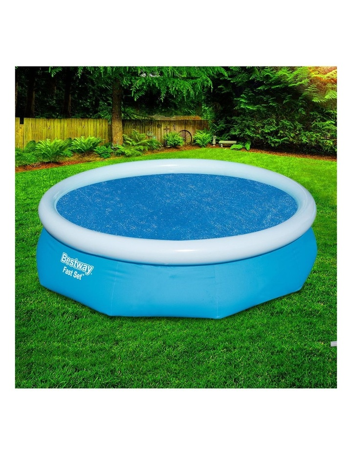 Solar Pool Cover Blanket for Swimming Pool 10ft 305cm Round Pool 58241 image 6