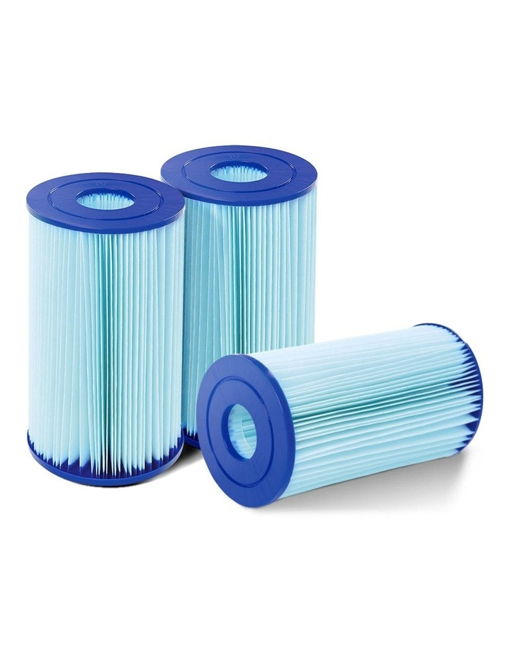 Filter Cartridge 6X For Above Ground Swimming Pool 2500GPH Filter Pump image 1