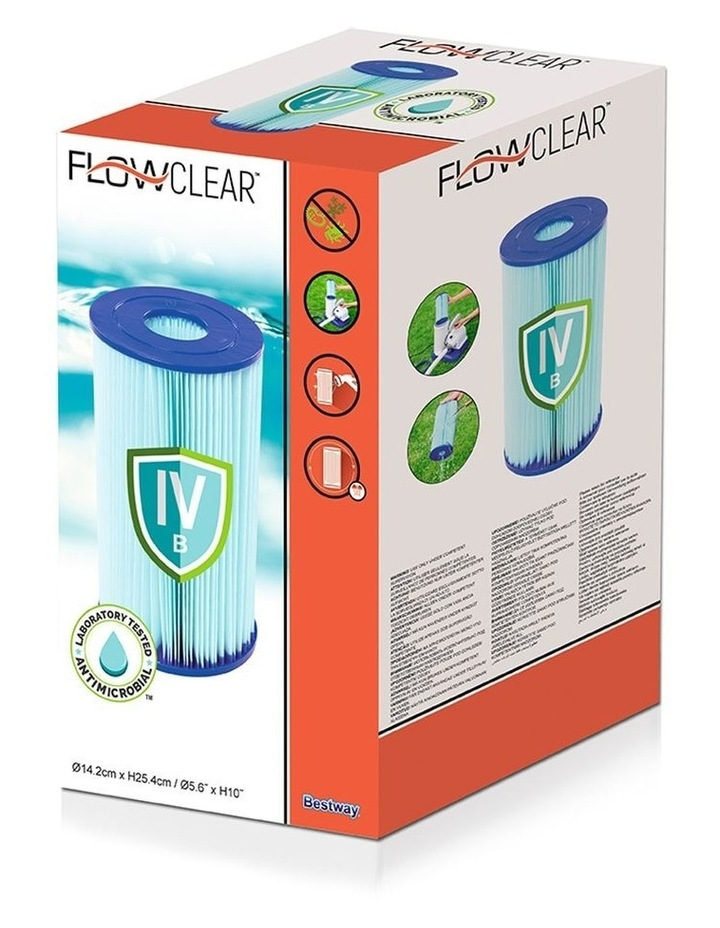Filter Cartridge 6X For Above Ground Swimming Pool 2500GPH Filter Pump image 3