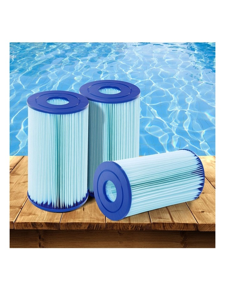 Filter Cartridge 6X For Above Ground Swimming Pool 2500GPH Filter Pump image 6