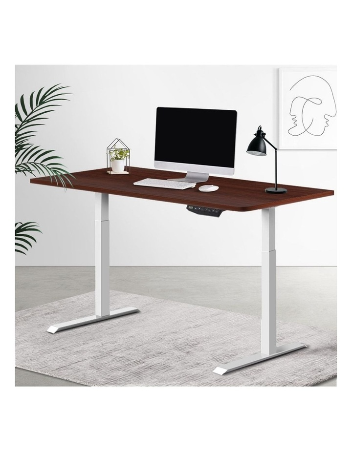 Standing Desk Motorised Sit Stand Table Height Adjustable Computer Laptop Desks Dual Motors 140cm image 6