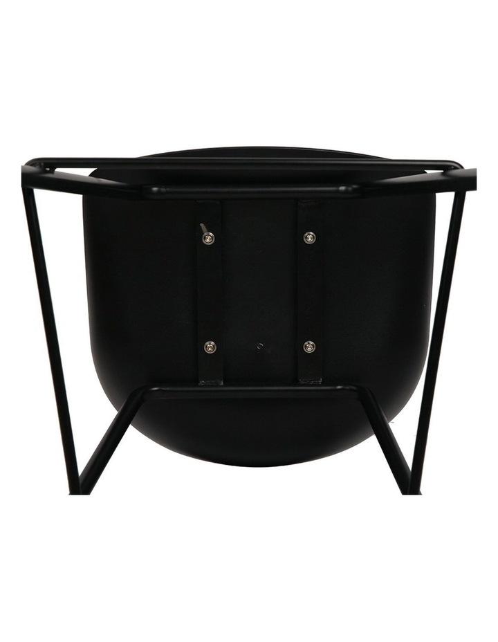 4x Kitchen Bar Stools Bar Stool Chairs Metal Black Barstools image 6