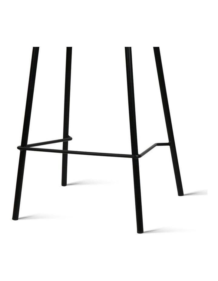 4x Kitchen Bar Stools Bar Stool Chairs Metal Black Barstools image 7