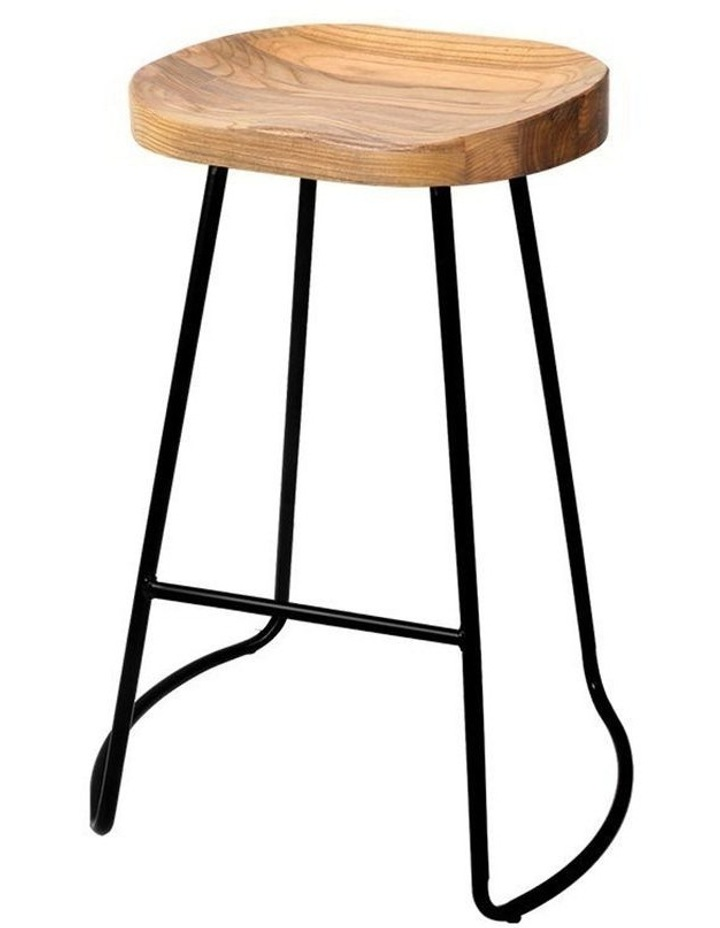 4x Vintage Tractor Bar Stools Retro Bar Stool Industrial Chairs 65cm image 1