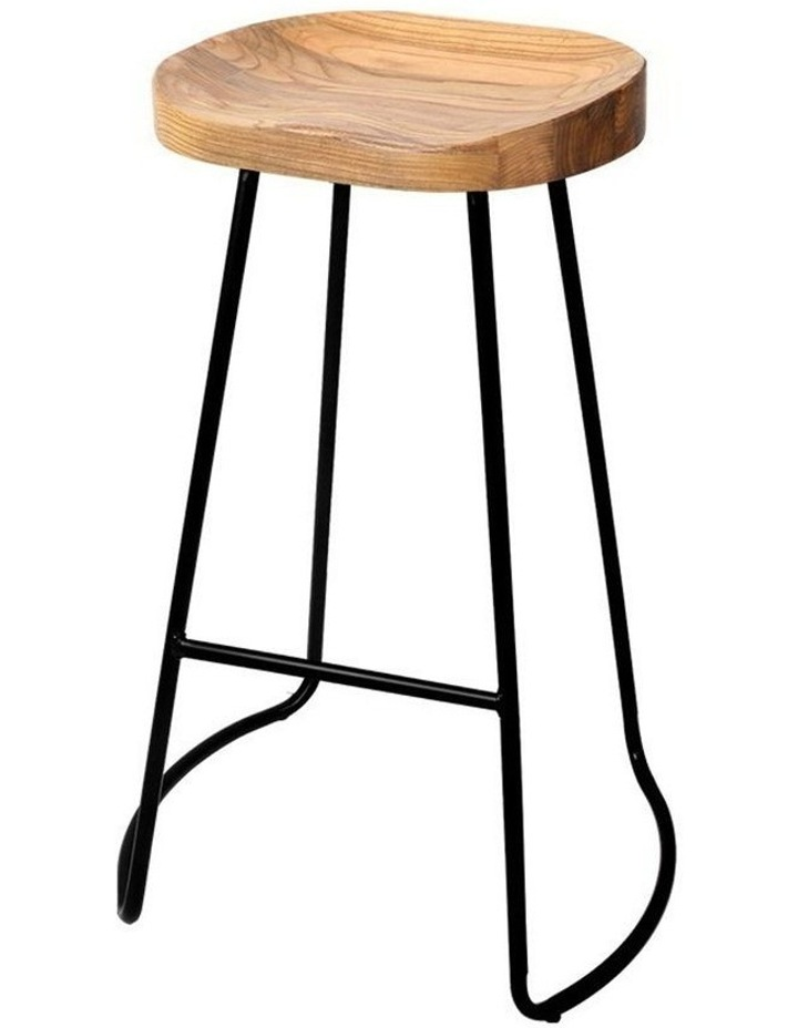 4x Vintage Tractor Bar Stools Retro Bar Stool Industrial Chairs 75cm image 1