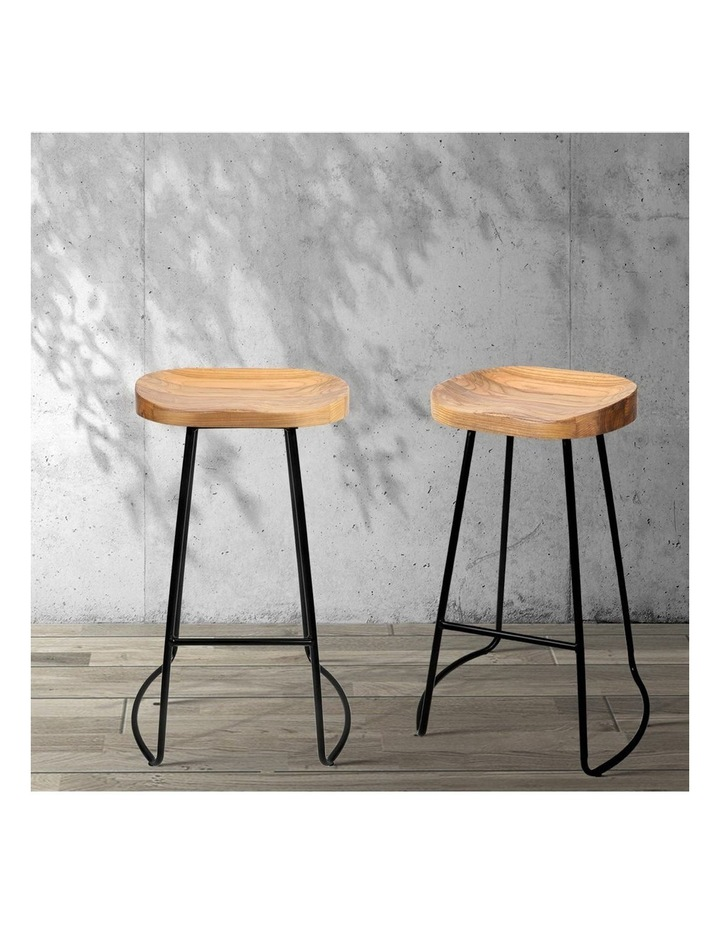 4x Vintage Tractor Bar Stools Retro Bar Stool Industrial Chairs 75cm image 3