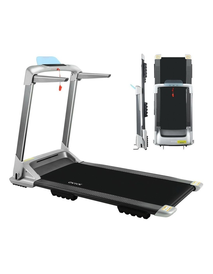 OVICX Electric Treadmill Q2S Home Gym Exercise Machine Fitness Equipment Compact Full Foldable Silver image 1