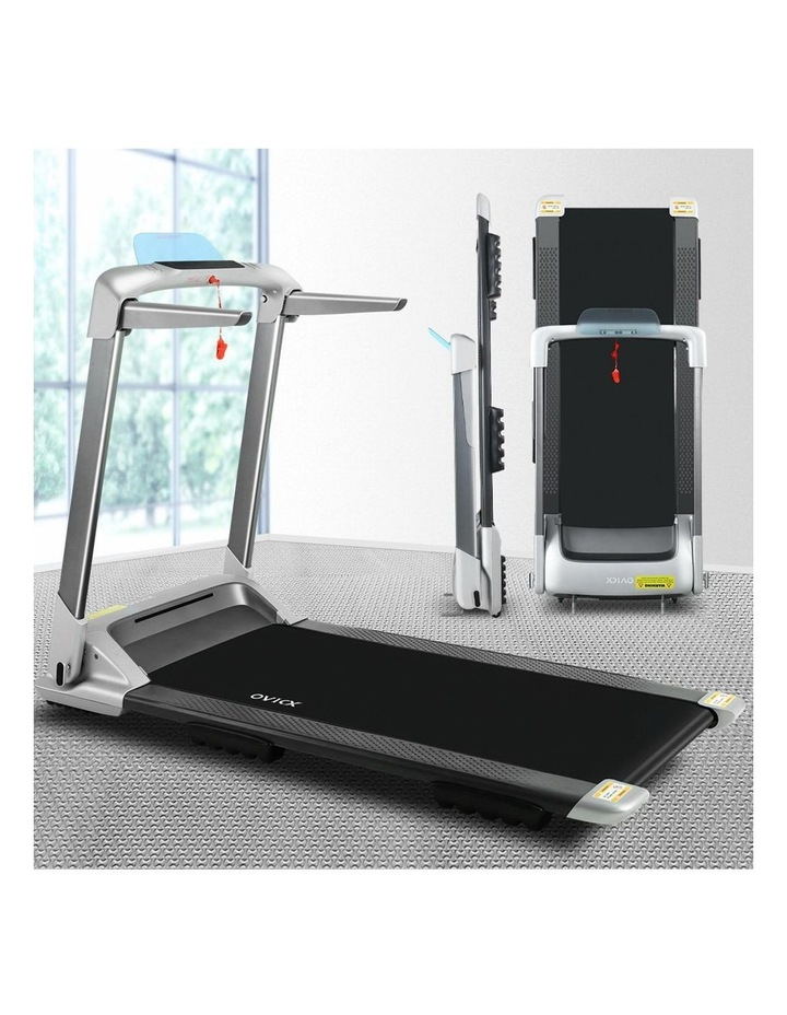 OVICX Electric Treadmill Q2S Home Gym Exercise Machine Fitness Equipment Compact Full Foldable Silver image 3