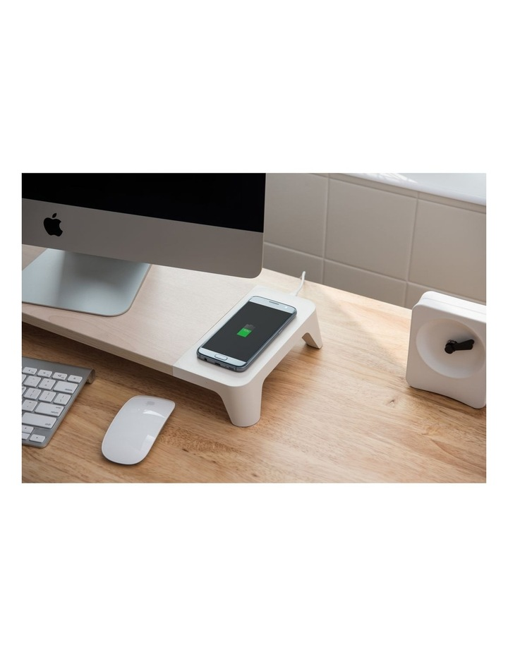 Pallo Woody Wireless Charging Monitor Stand image 2