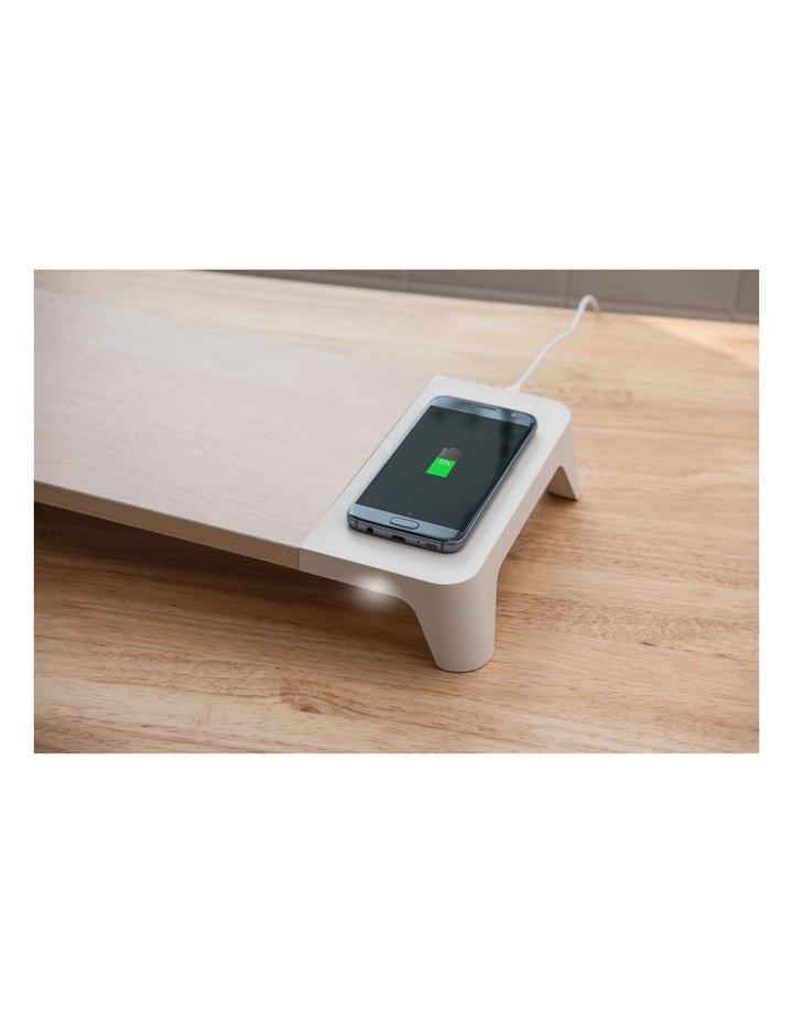 Pallo Woody Wireless Charging Monitor Stand image 5